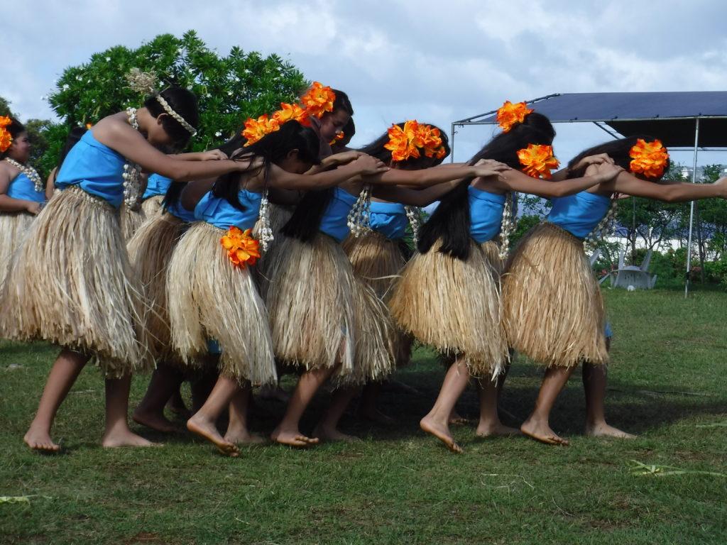 Dancers in Guam