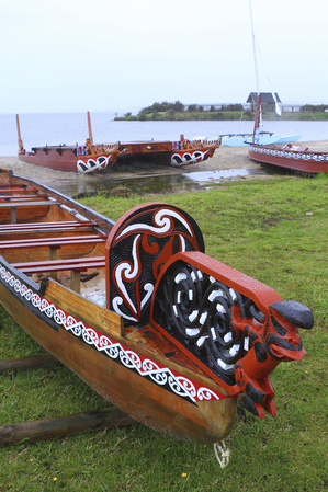 Native boats in New Zealand