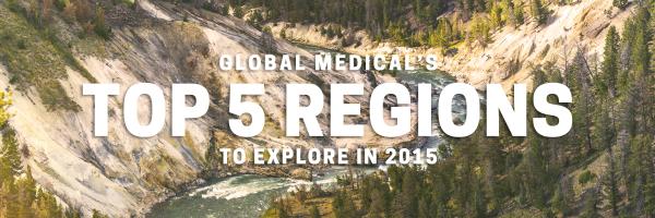 Global Medical's top 5 regions for locum tenens doctors to explore in 2015