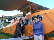 Biplanes, sky swings, yacht races & jet boats: it's all in a locum day's work
