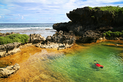 Natural Pool in Guam