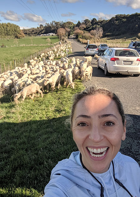 Dr. Restrepo in New Zealand