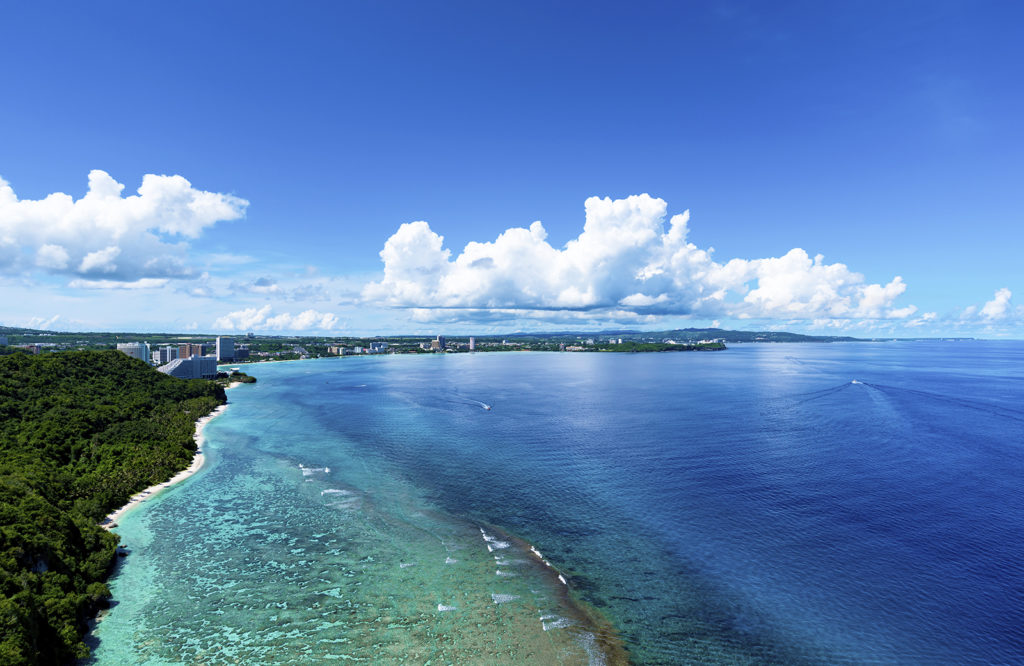 Guam shoreline