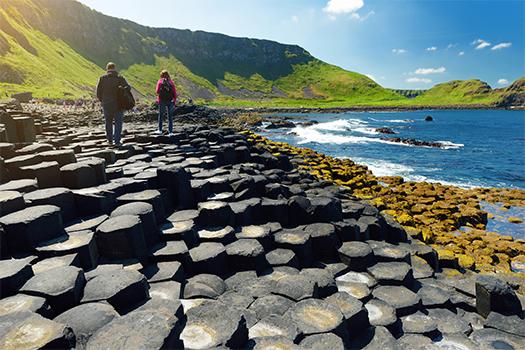 Ireland rocky beach